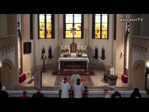 Dominica post Ascensionem 01 - Organ - Traditional Latin Mass