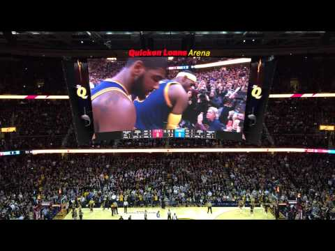LeBron James' chalk toss on Cleveland Cavaliers opening night