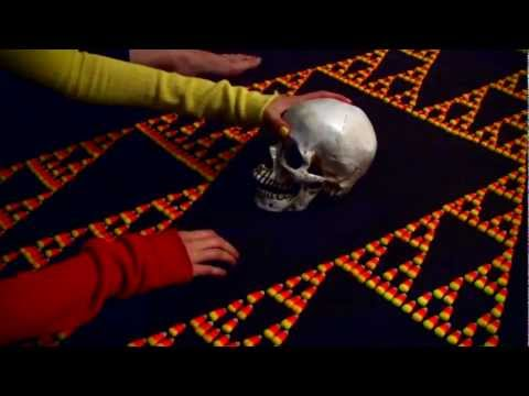 Scary Sierpinski Skull Time