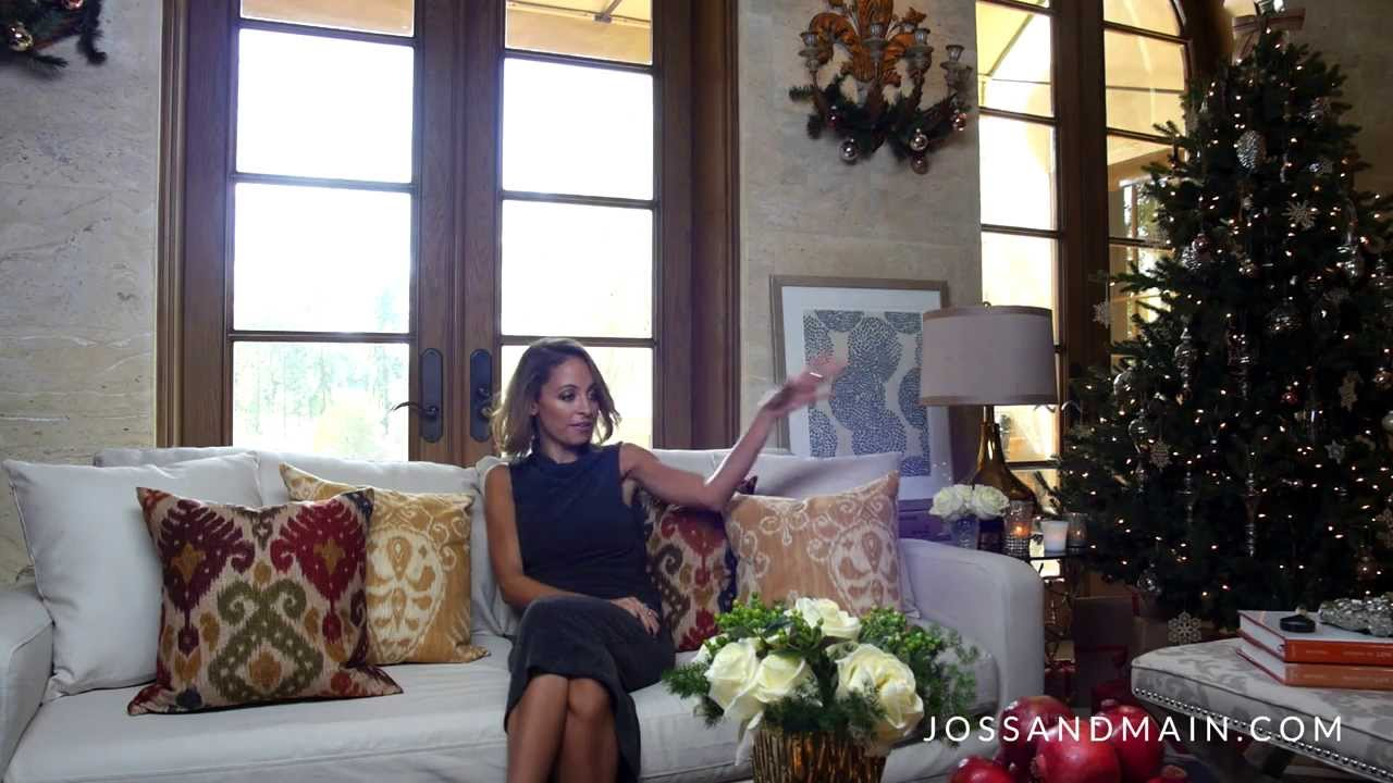 Nicole Richie's Holidays in Style with Joss & Main - YouTube