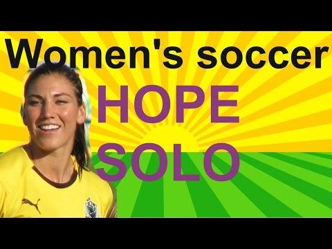 FIFA Women's Soccer - Women's Soccer team USA - Hope Solo