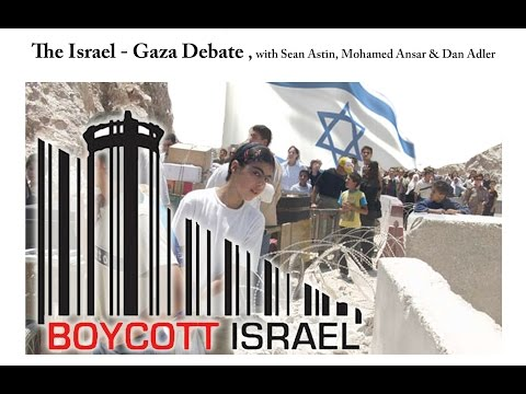 The Israel Palestine Debate - with Sean Astin, Mohammed Ansar and Dan Adler