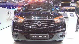 SsangYong Rodius Quartz 7AT AWD Turismo 2.2  SV220e Xdi (2017) Exterior and Interior