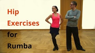 5 Hip Exercises for Rumba / Latin Dancing