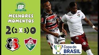 Santa 2 (2 x 3) 0 Fluminense | Copa do Brasil 2019 - Melhores Momentos - Barrinha Fechada