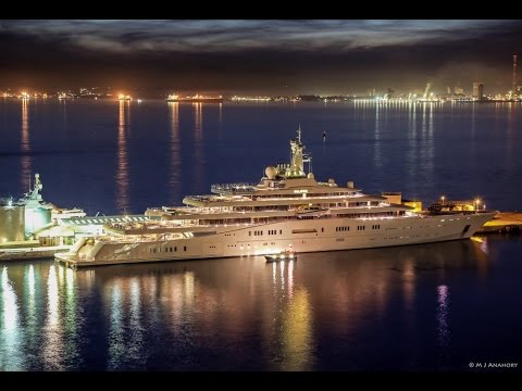 162.5m 'ECLIPSE' In Gibraltar, The New UBERYACHT, Ferretti & Ferrari Now Family & much more