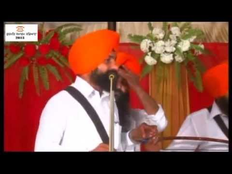 Dhadi Jatha Saroop Singh Kadiana  3rd Day of Gurmat Samagam 2013 at Village Kadiana