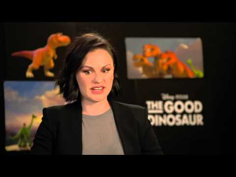 "The Good Dinosaur: Anna Paquin ""Ramsey"" Behind the Scenes Movie Interview"