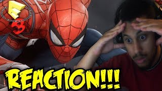 FREE YOUR MIND NEO!!! Marvel's Spider-Man - PS4 Trailer | E3 2017 REACTION!!!