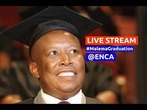 EFF leader Julius Malema graduates