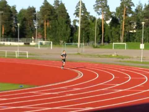 Petter Meyer jälleen maaliteossa. Ottelu pelattu Varkauden Keskuskentällä 29.06.2011.
