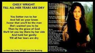 Watch Chely Wright Till All Her Tears Are Dry video