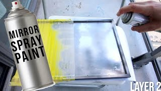 Testing out A MIRROR IN A CAN?!?!? | MIRROR Spray Paint |