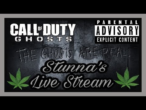 Call Of Duty Ghost! Sunday Night Ghost Hunting! ( Call Of Duty Ghost Live Stream )