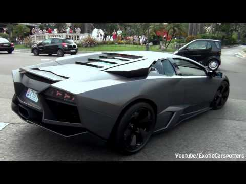 Lamborghini Reventn - Start Ups, Accelerations - 1080p HD