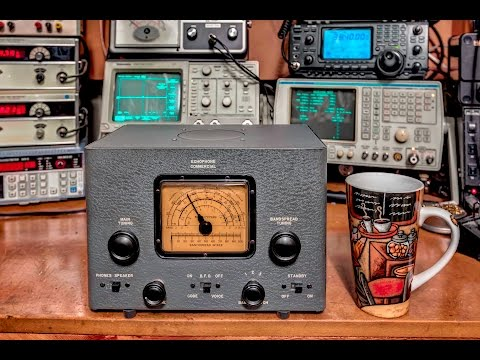Echophone EC-1 Tube Radio Restoration with Alignment Procedure