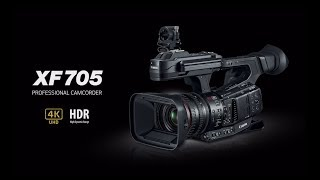 Introducing the Canon XF705 Professional Camcorder