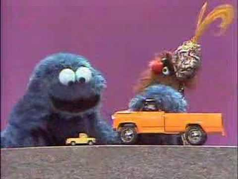 Sesame Street - The Monster