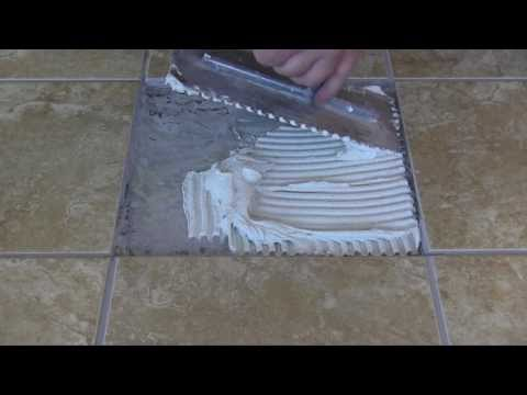 LATICRETE Pro Tips: Removing and Replacing a Broken Tile