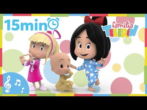 Familia Telerín. Colección Canciones (15 minutos). Canciones Infantiles para Niños.