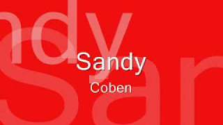 sandycoben song