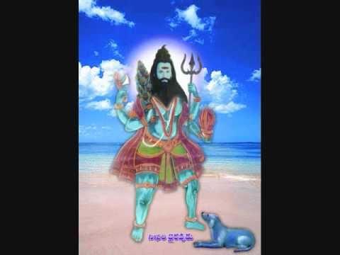 Terrifying and wrathful Kala Bhairava