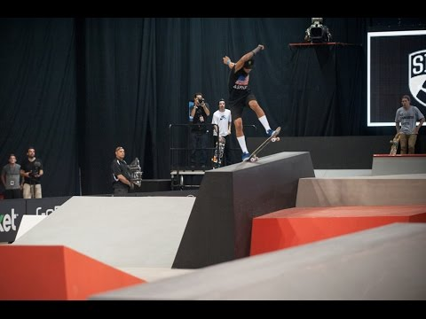 5 Trick Fix: Nyjah Huston Street League Chicago