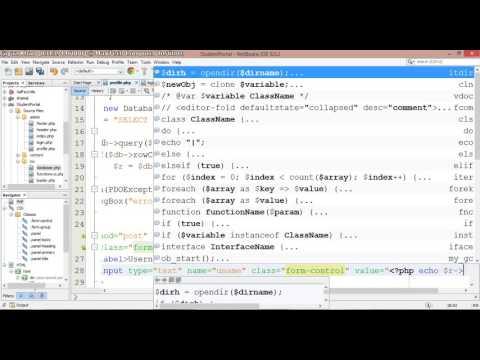 07 – Student Portal in PHP/MySQL (Pashto)