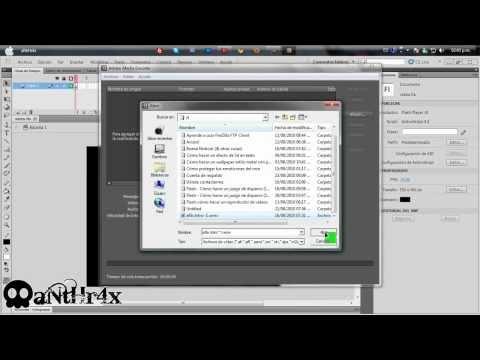 Flash || Cómo hacer un reproductor de video (pedido)