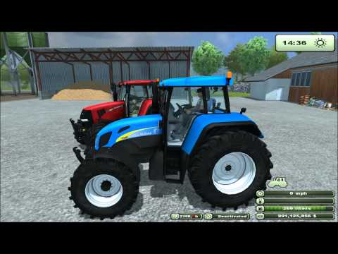 Mod for Farming Simulator 2013 New Holland T7550 REVIEW