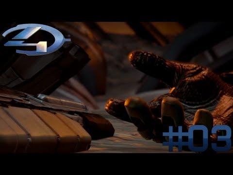 Let's Play HALO 4 #03 - Absturz! [German/Xbox360]