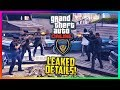 GTA 5 NEW COPS & CROOKS DLC - Police LEAK Update, Release Date, Outfits/Vehicles & MORE Leaked! MP3