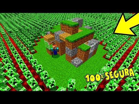 1000 CREEPERS VS. CASA MAIS SEGURA DO MINECRAFT!!! (MINECRAFT)