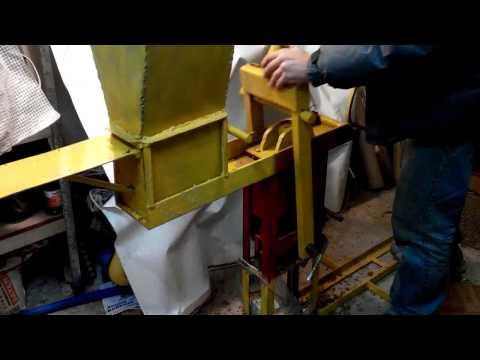 видео: Пресс для топливных брикетов.