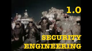 Lecture 1.0 Security Engineering 2016 Module 01