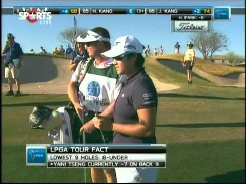 Highlights-Yani Tseng(曾雅妮) holds a lead at 2012 Donnelley LPGA Founders Cup Round1~2