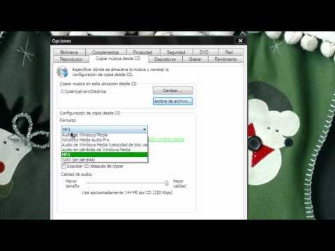 Como Extraer el Audio De Un CD o DVD (Sin Programas) (HD)