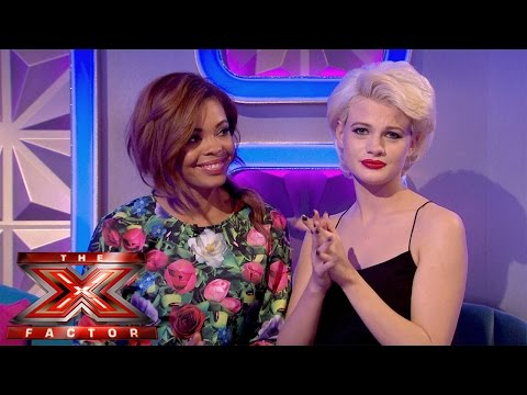 Stephanie Nala and Chloe Jasmine Exit Chat | The Xtra Factor UK 2014