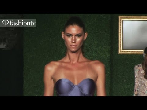 Sinesia Karol Swimwear 2013: Bikini Models On The Runway At Funkshion Fashion Week Miami | Fashiontv video
