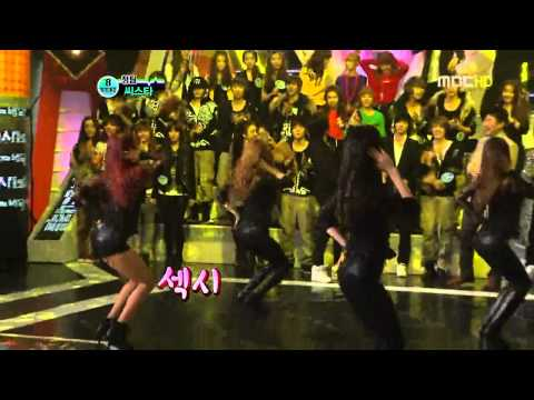 Sistar vs. Rainbow @ SDB [11.02.03] Music Videos
