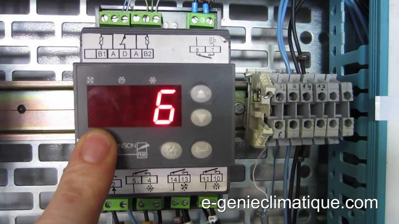 Froid83 r gulateur mr4 fonctionnement et param trages - Principe de fonctionnement d une chambre froide ...