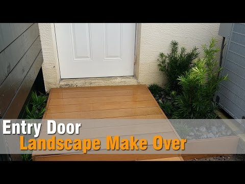 How to landscape a small area