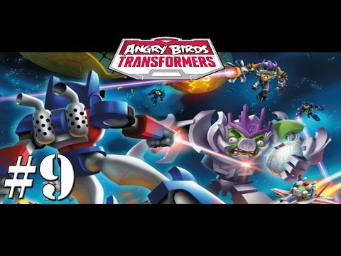 Angry Birds Transformers - New Characters Unlocked New Weapons Gameplay Walkthrough #9