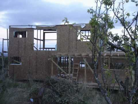Construccion casa de madera youtube for Casas para construccion
