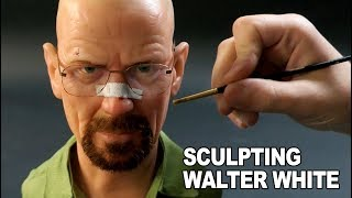 Walter White Sculpture Timelapse - Breaking Bad