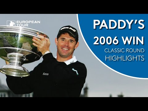 Harrington's 2006 Dunhill Links Victory | Classic Round Highlights