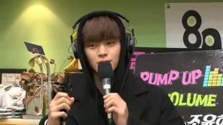 [170317] Kiss The Radio - BTOB Rap Line sing & Sungjae rap - Way Back Home