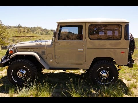 1976 Toyota Land Cruiser FJ40 with Cummins 4BT - FOR SALE