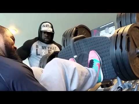 Leg Press (320 Reps) - Kali Muscle + The Beast video