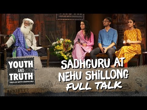 Sadhguru at NEHU Shillong – Youth and Truth [Full Talk] thumbnail